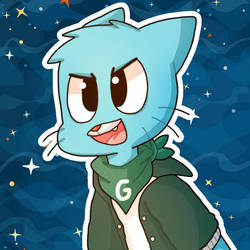 Cool Gumball by TheFoxGamerBr999