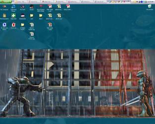 Work Desktop 8-10-07 by GalvatronPrime