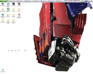 Work Desktop 6-28-07 by GalvatronPrime