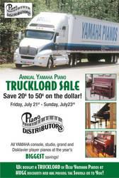Piano Distributors flyer by GalvatronPrime