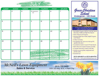 Plant City Calendar sample by GalvatronPrime
