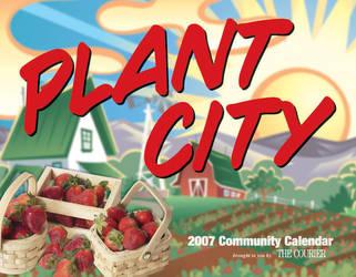 Plant City Calendar cover by GalvatronPrime