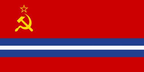 Flag of the Greek Soviet Socialist Republic by Diesel7202