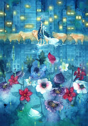 Sleepwalk by syuka-taupe