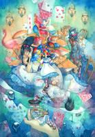 Alice in Wonderland by syuka-taupe