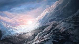 Winter Road by Alexlinde