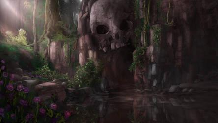 Skull Cave by Alexlinde