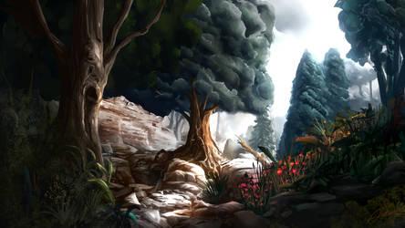 Spring Path by Alexlinde