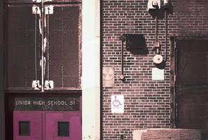 Junior High School 51 / Fallout Shelter by FennecFoxen