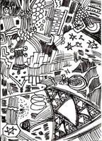Thinkpad Sierpinski action by FennecFoxen