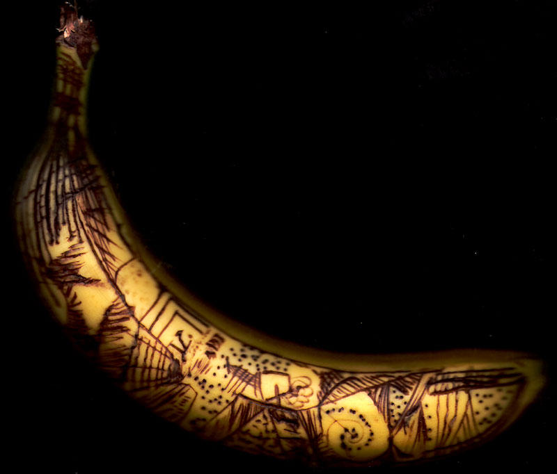 Banana 0 by FennecFoxen
