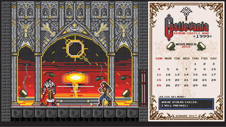 Castlevania Tides Of Times November 2018 by houssamica
