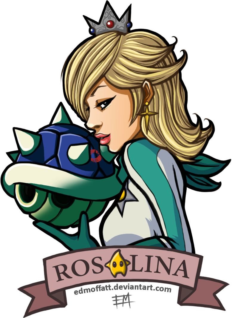 Rosalina Mario Kart (update) by EdMoffatt