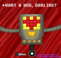 Would you hug the killer robot? [Undertale] by JEEP-WRANGL3R