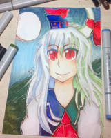 Picture for amino that I did of Keine by otakuartist247