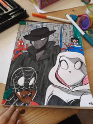 Spiderverse!! by superawesomebookwiz