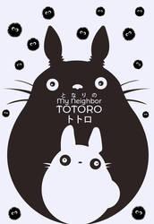 totoro by xrogerxsti