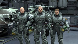 Green Team by enderianc