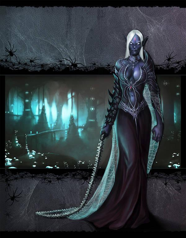 Wayfinder #9 Cover - The Darklands by Ruloc