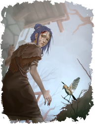 Wayfinder #14 Illustration - Siofra by Ruloc