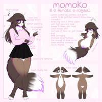 Momoko Reference by yeagar
