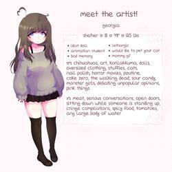 Meet The Artist by yeagar