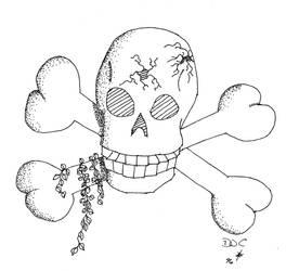 Skull and Cross Bones by danielbastion