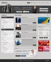Web Hosting Layout 2 by DxDesigns