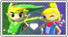 Toon Link x Tetra - Stamp by gaby-sunflower