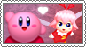 Kirby x Ribbon - Stamp by gaby-sunflower