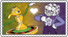 Pirouletta x King Dice - Stamp by gaby-sunflower