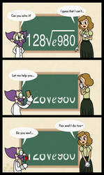 KxB: Maths of Love by gaby-sunflower