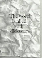 Dicktators by WRDBNR