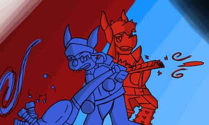 Dynamo Hunters by theZebro