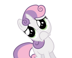 Sweetie Belle - Manipulative/HNNG Face by guille-x3