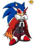 AQ: Gurren lagann - Kamina Sonic by ZeroR102