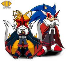 AQ: Gurren Lagann - Sonic Style by ZeroR102