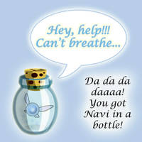 'You got Navi in a Bottle' by Sunshinylisee