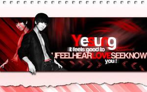 Yesung - Feels Good Wallpaper by JadeRiverJR