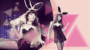 2NE1 Park Bom Wallpaper {Request} by JadeRiverJR
