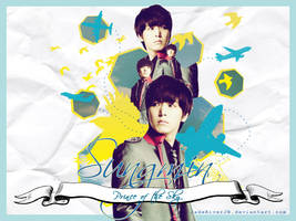 Sungmin - Prince of the Sky Wallpaper {HBD!} by JadeRiverJR