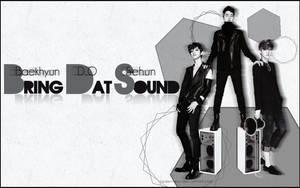 Baekhyun, D.O, Sehun - Bring Dat Sound Wallpaper by JadeRiverJR