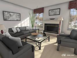 THE LIVING ROOM by FILCOMET