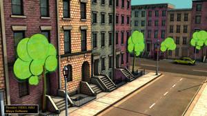 MIKE'S TOON CITY by FILCOMET