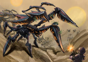 STARSHIP TROOPERS by drull