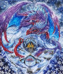 Winter patron by JR-Dragona
