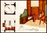Horse Stalls - Studies by Mavelle-Ealenyr