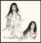 Karta - Sketches by Mavelle-Ealenyr