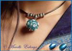Delphinium Necklace by Mavelle-Ealenyr