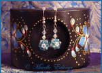 Delphinium Earrings by Mavelle-Ealenyr
